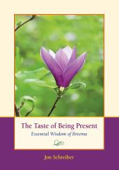 The Taste of Being Present book by Jon Schreiber