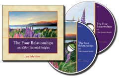 The Four Relationships audio book CD image