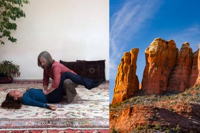 Breema workshop in Sedona at the Creative Life Center